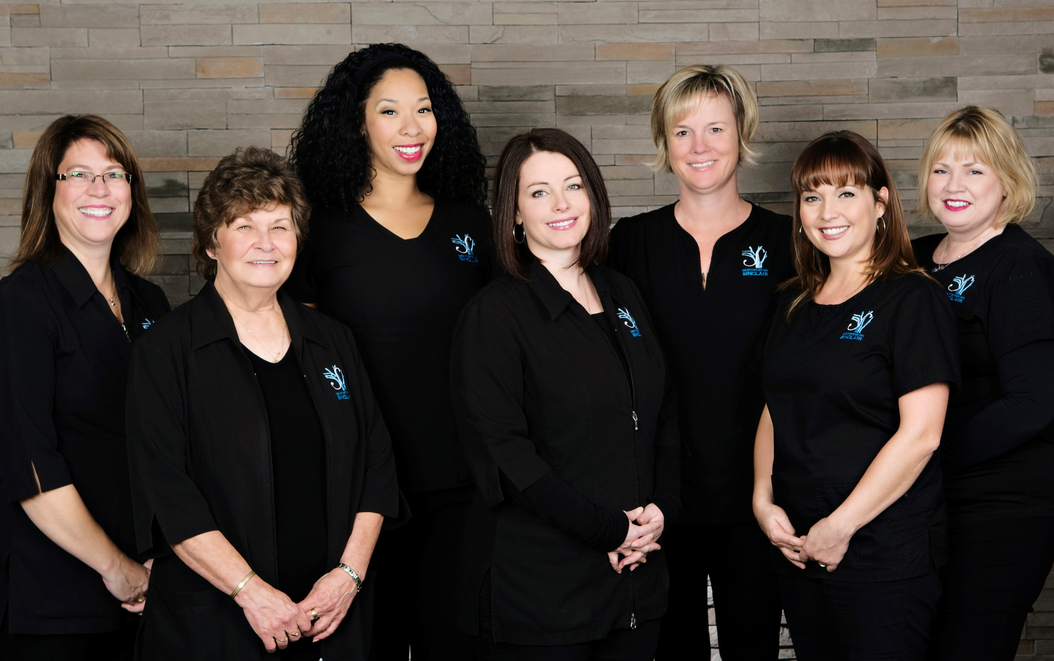 OUR ADMIN TEAM: Carolyne, Carole, Char, Lisa, Nancy, Marie-Claire, Holly