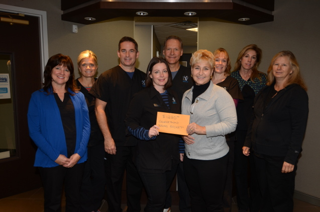 Dentistry on Sinclair Raises $1280 for the Georgetown Breadbasket Food Bank