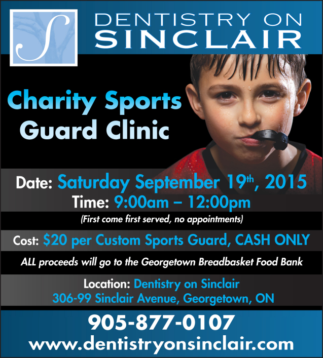 Charity Sports Guard Clinic