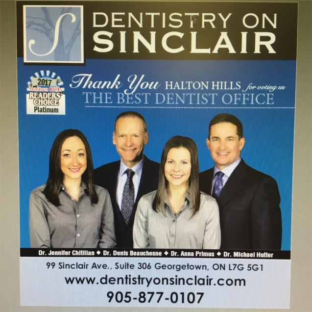 Thank You for voting us Best Dentist Office (Platinum) for the Reader's Choice Awards